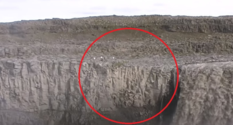 Iceland accidentally filmed a transforming alien watching people 87