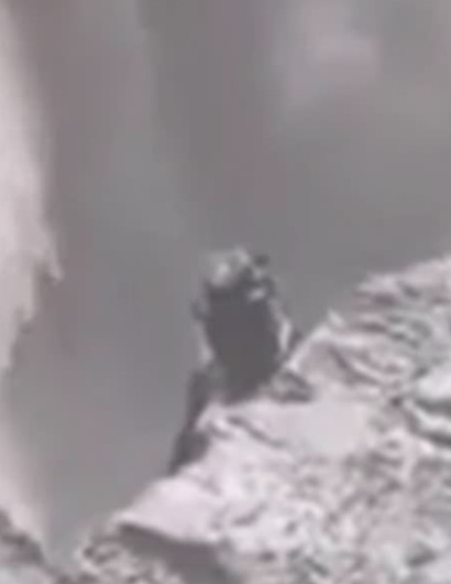 Iceland accidentally filmed a transforming alien watching people 94