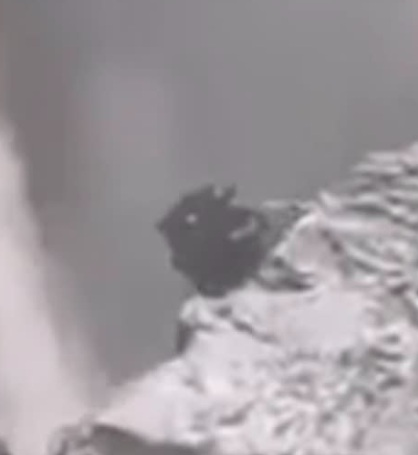 Iceland accidentally filmed a transforming alien watching people 95