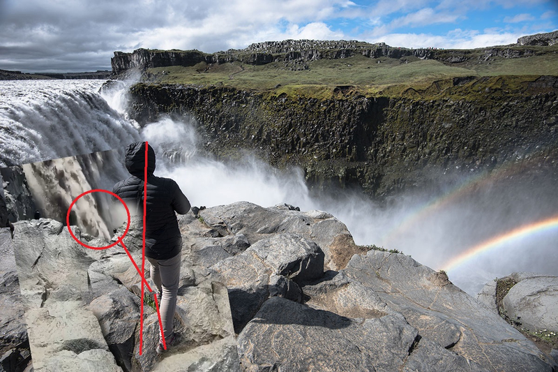 Iceland accidentally filmed a transforming alien watching people 101