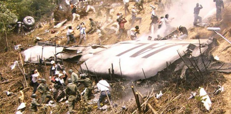 The plane that crashed in Japan mysteriously appeared on radar 35 years later 6