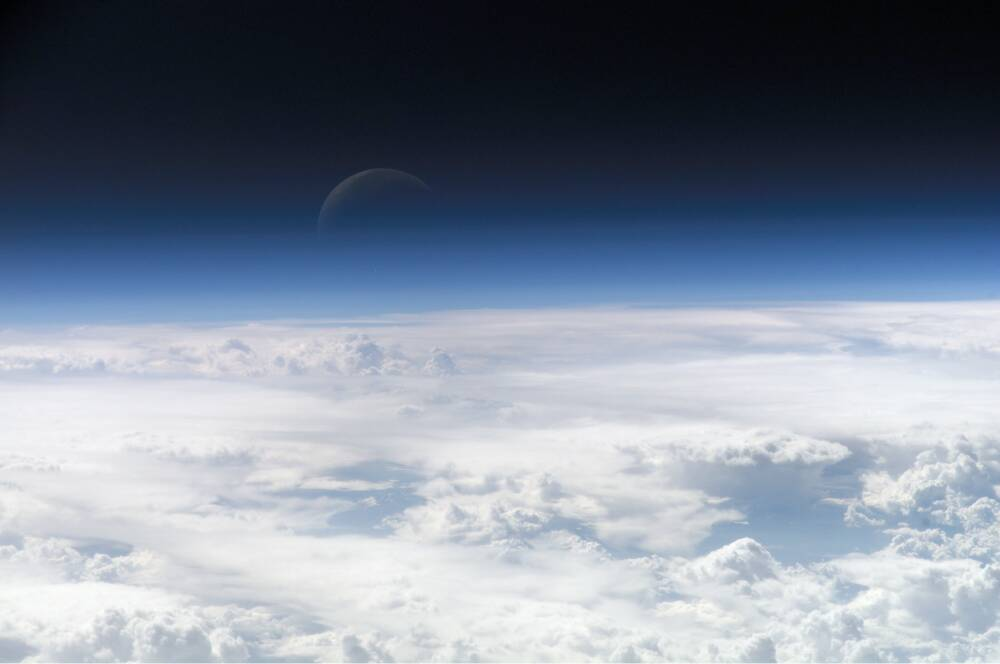Earth's atmosphere / © wikipedia
