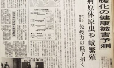"""Prophecy of God"" about coronavirus found in an old Japanese newspaper: ""Half of humans will suffer from infectious diseases in 2020"" 95"