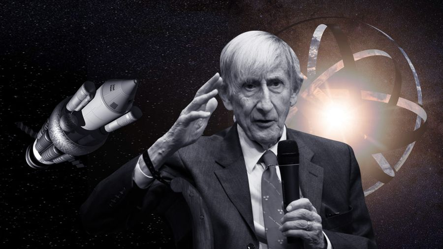 Freeman Dyson and his gigantic sphere 20