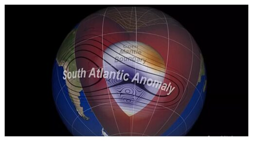 An anomaly in the Earth's magnetic field is about to split in two 10