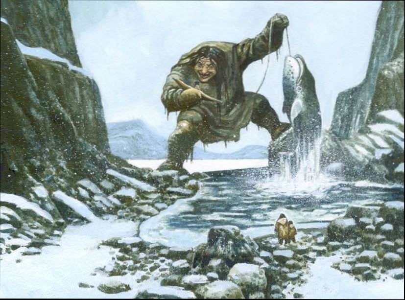 Arctic Mythology. Demons and giants of the north 2