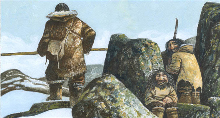 Mythology of the Arctic.  Demons of the far north