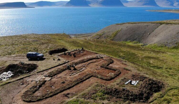 A settlement was found in Iceland, which is mentioned in fairy tales 88
