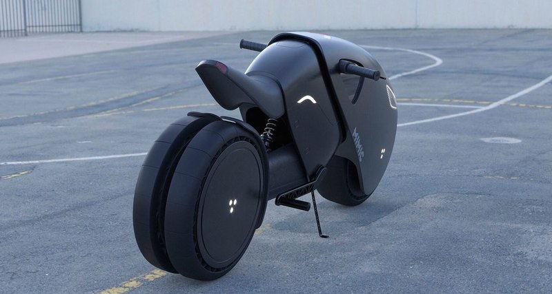 Russian designer has created a concept for the electric bike of the future