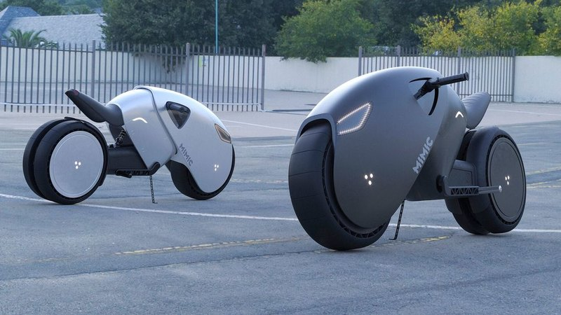 Designer has created a concept for the electric bike of the future 86
