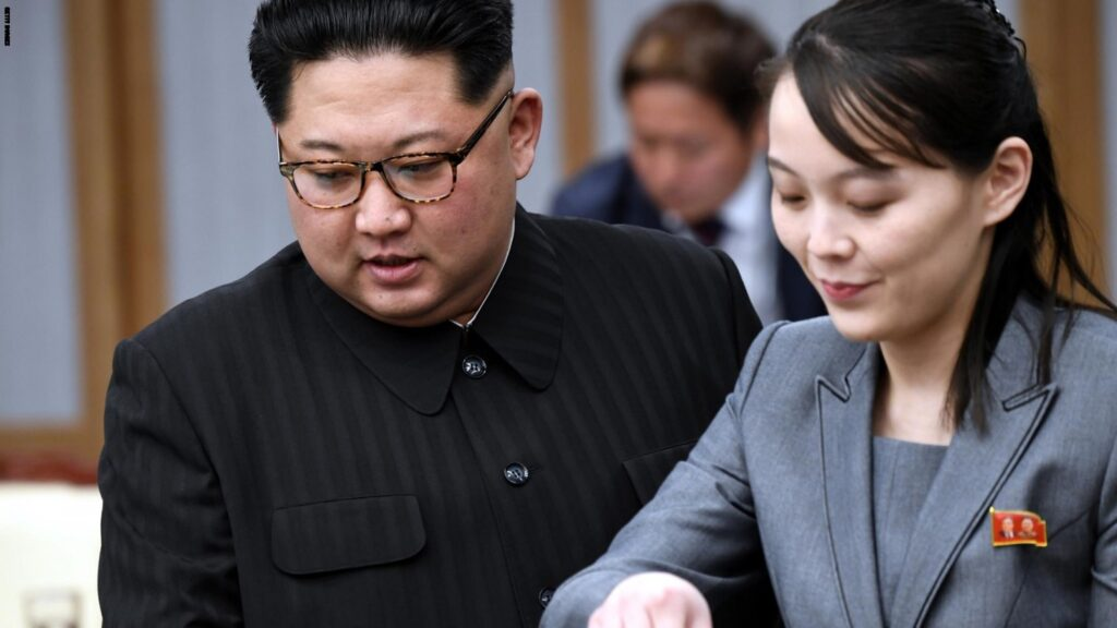 Information leaks out that Kim Jong-un has executed his sister 20
