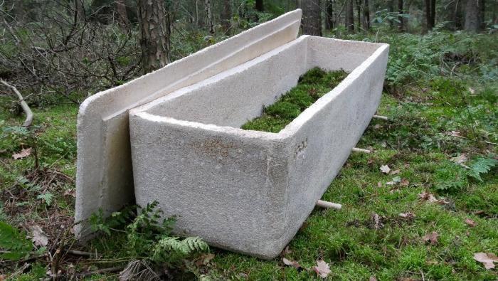 In the Netherlands, people began to be buried in mushroom coffins 86