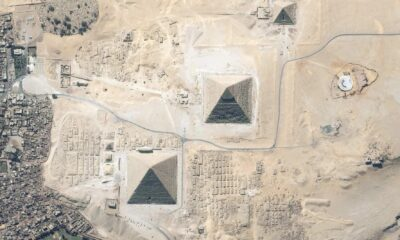 Discovered mysterious giant objects on the Giza plateau, near the famous Egyptian pyramids 90
