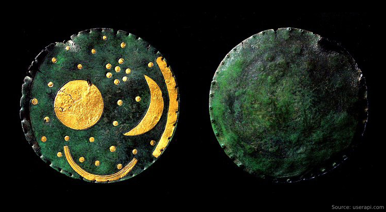 Sensational Findings About Nebra's Celestial Disc: It is 1000 years younger than previously thought 86