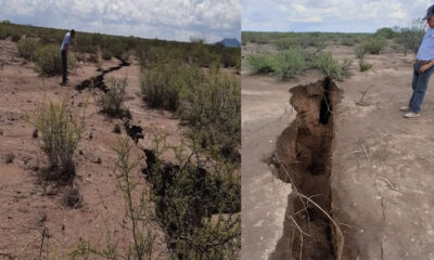 North America may split in half: giant cracks formed in the ground 89