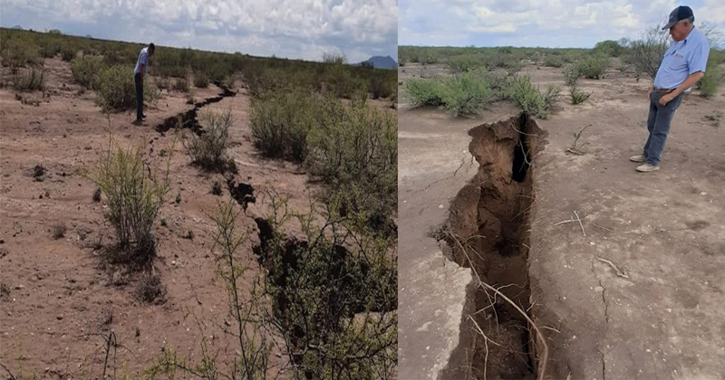 North America may split in half: giant cracks formed in the ground 10