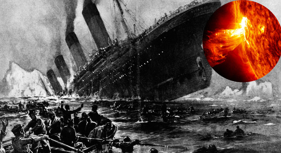 "New version of the ""Titanic"" sinking: the ship was destroyed by a solar storm 1"