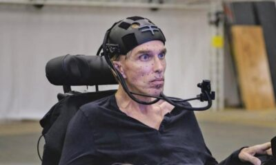 "Scientist Peter Scott-Morgan is set to become ""the world's first complete cyborg"" 107"
