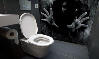 A haunted toilet was installed in an amusement park in Japan 93
