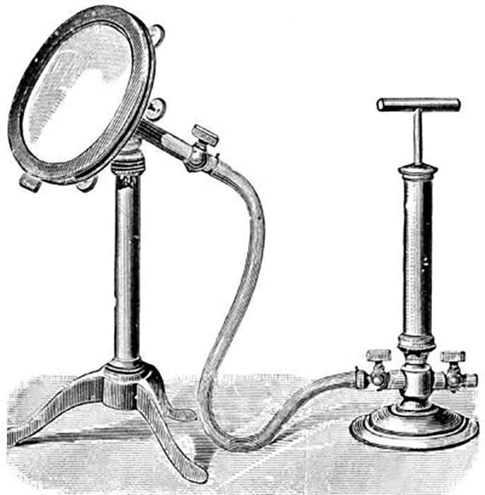 Western scholars have tried to reproduce the effect of an ancient Eastern magic mirror using a compressor.