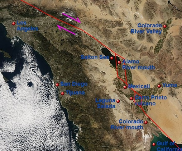San Andreas Fault: USGS does not rule out an Earthquake Of Magnitude Greater Than 7 Could Occur Within The Next Week 3