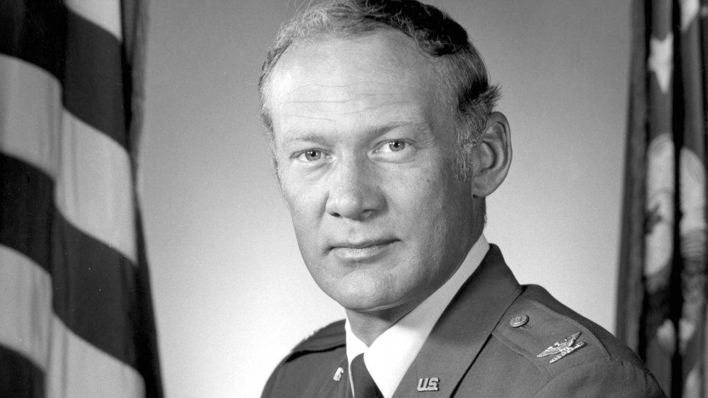 Buzz Aldrin is the second person on the moon.