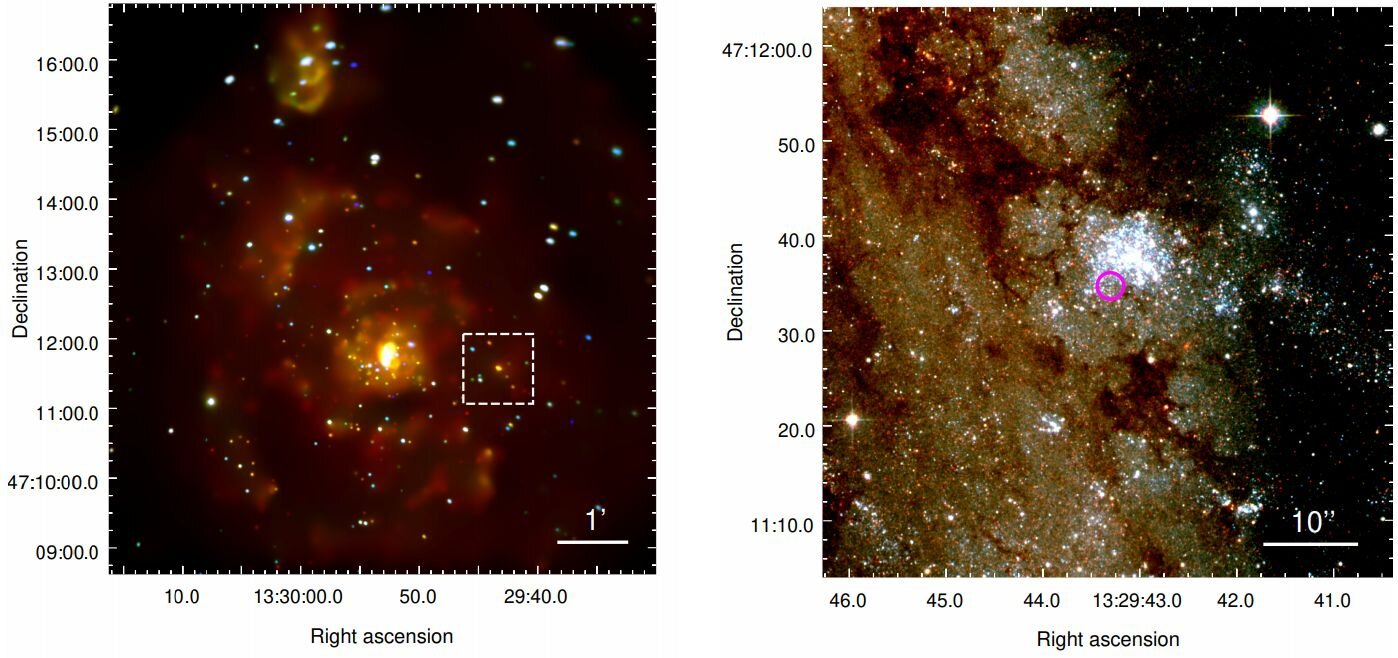 First exoplanet discovered in another galaxy 88