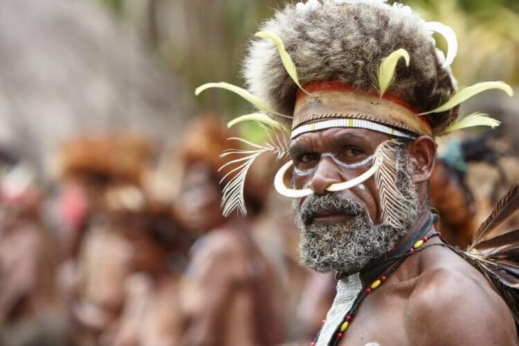 Modern tribes living in isolation from civilization 91