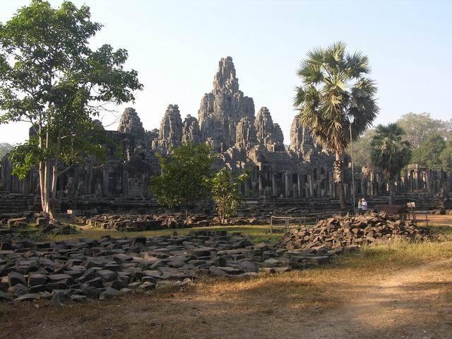 Bayon temple in Angkor