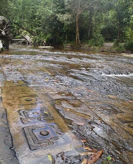 Kbal Spien river in Angkor