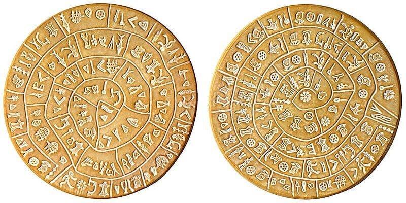 Phaistos disc.