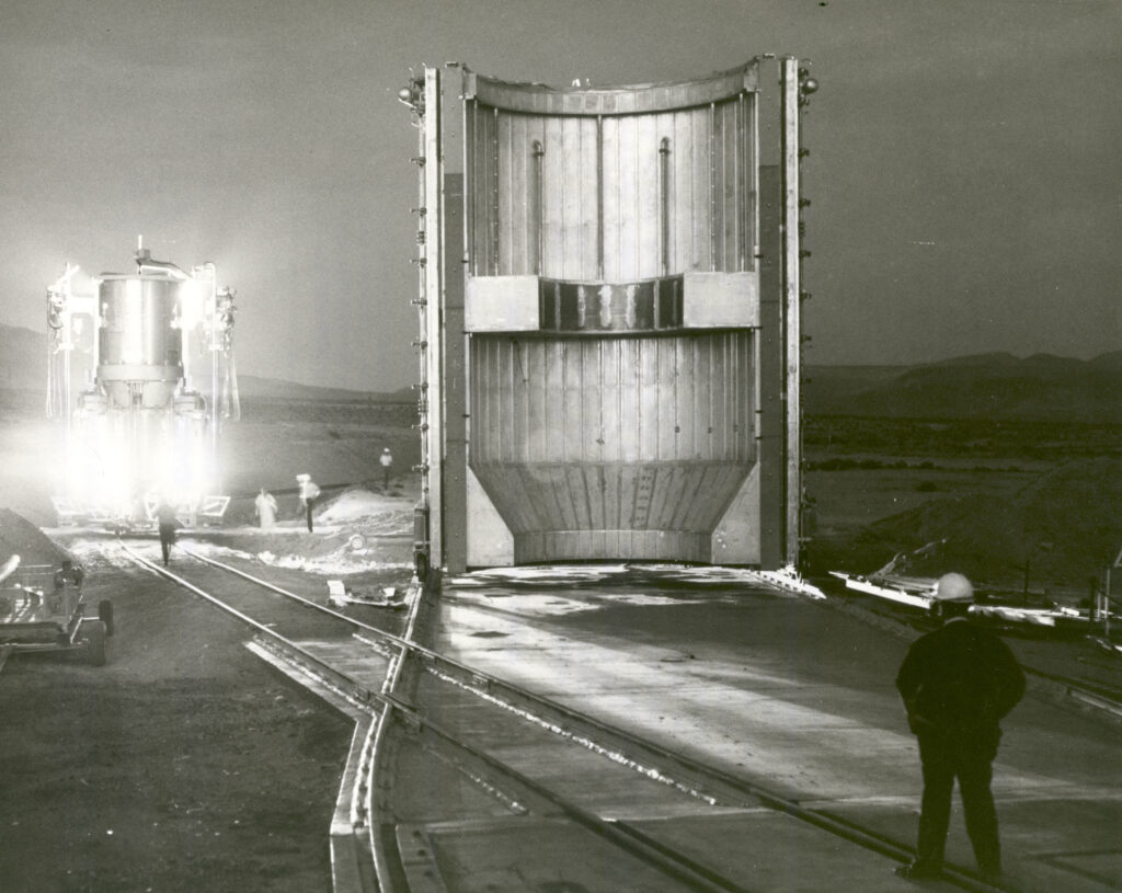 Tests of the first nuclear jet engine in 1967 / © NASA