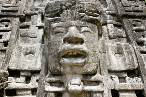 A fierce embodiment of Earth: The Mayan structure used for direct dialogue with the gods 1