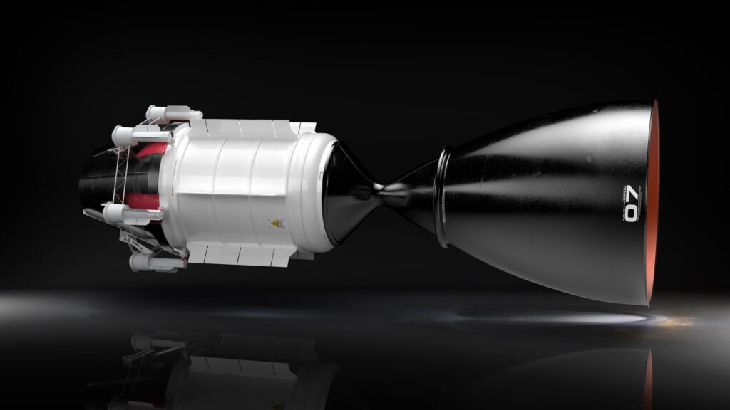 NTP nuclear rocket engine will take humans to Mars in just three months 1