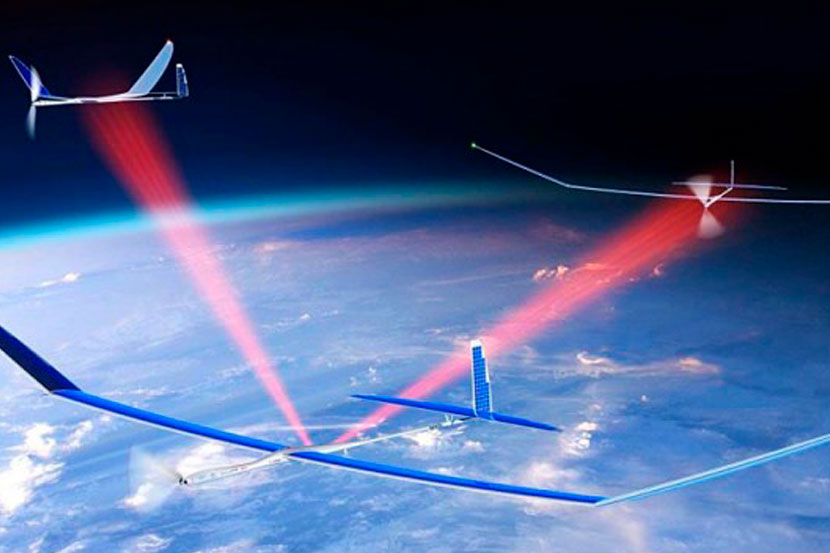 In Europe, 5G towers will be raised on drones into the stratosphere 1