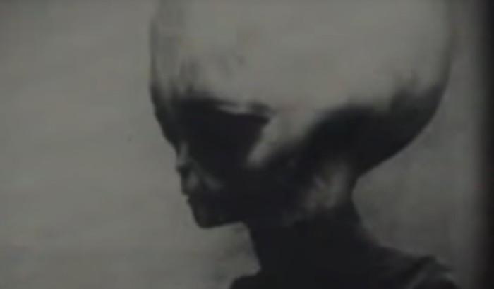 "Memorabilia: Leaked Video of the ""gray"" alien survivor of the Roswell UFO crash 1"