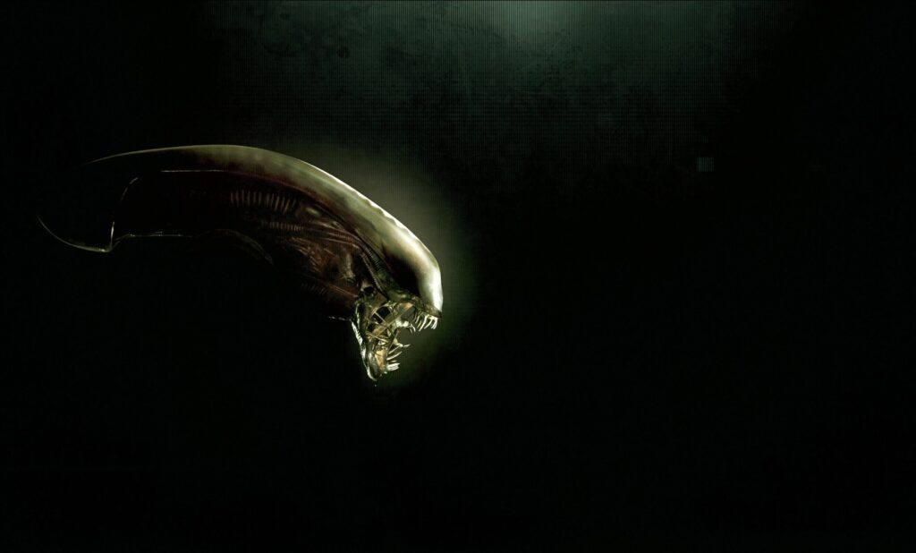"There is a monster on Earth - a copy of ""Alien"" 11"
