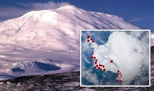 Scientists have found dozens of volcanoes under Antarctica that could wake up and destroy the Earth 3