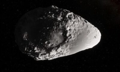 Ominous record: on Friday the 13th an asteroid passed below the ISS 9
