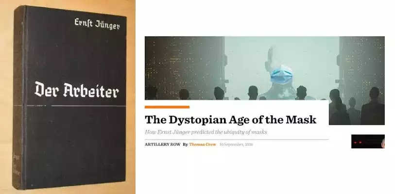 Book predicted the arrival of mask totalitarianism on the planet in 1950! 2