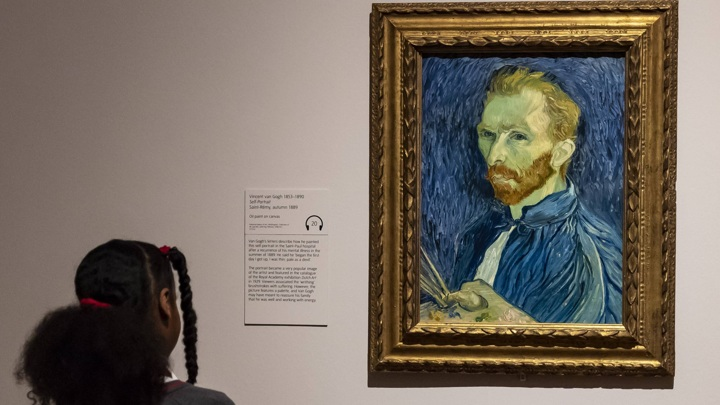 Mad genius Van Gogh got a new diagnosis 106