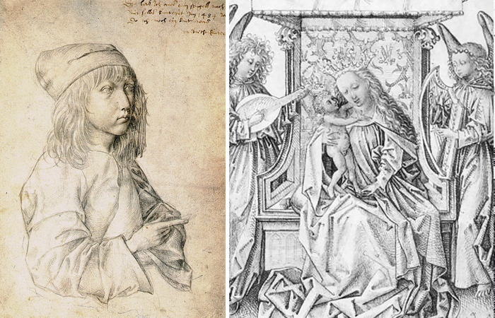 Self-portrait and Madonna Durer