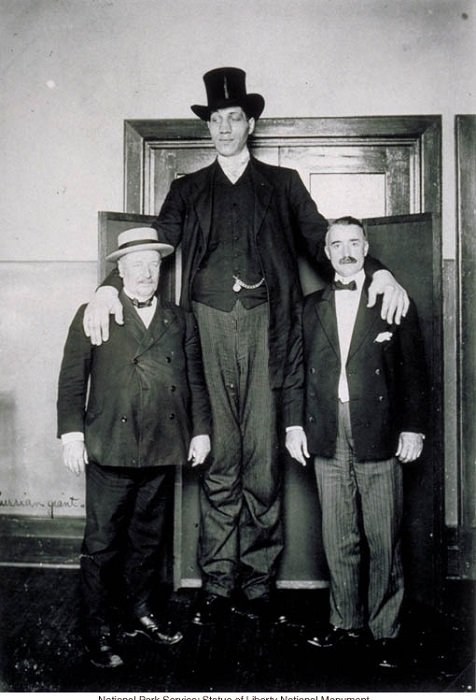 The tallest man on earth lived in the Russian Empire