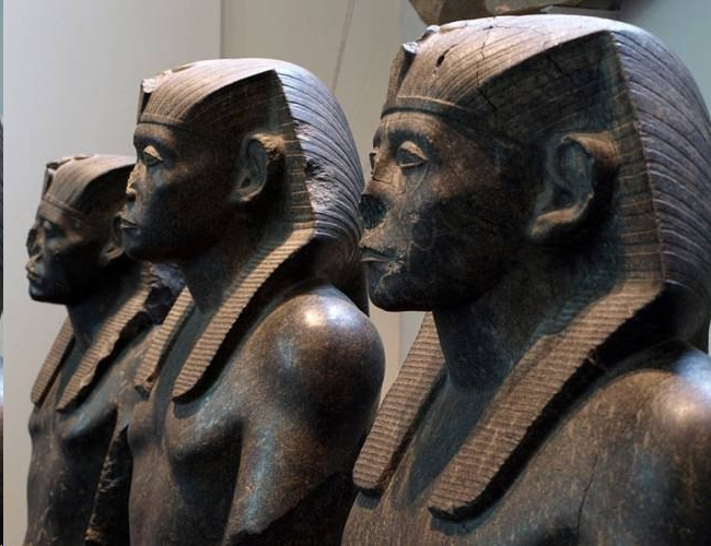 Secrets of the ancient Egyptian statues - whom did the Egyptians depict in the stone of gods or people? 2