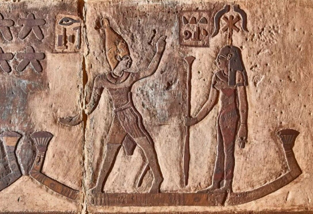 "Archaeologists have discovered ""unknown"" constellations in an Egyptian temple 103"