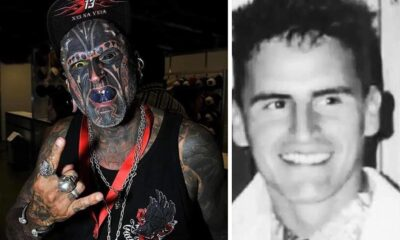 Tattoo and body transformation fan wants to carve the number 666 on his head 24