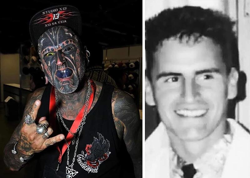 Tattoo and body transformation fan wants to carve the number 666 on his head 102