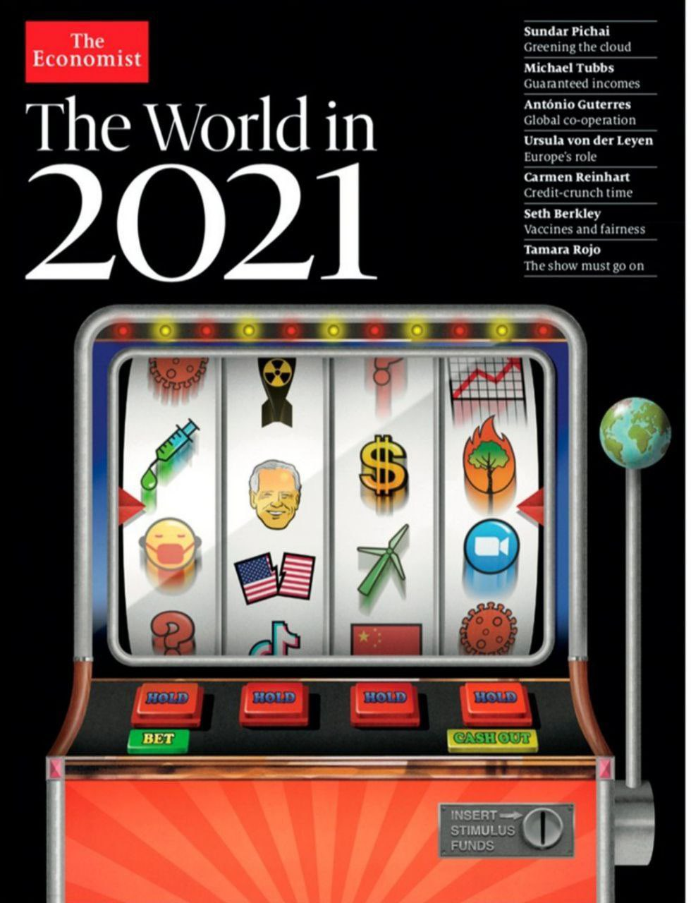 What The Economist predicted for 2021 and for what purpose 99
