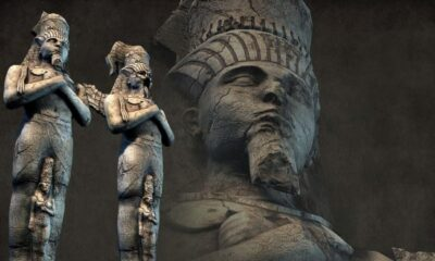 Secrets of the ancient Egyptian statues - whom did the Egyptians depict in the stone of gods or people? 34