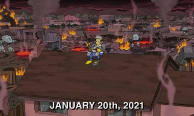 The Simpsons showed what 2021 will be like. The fans are praying that the sad footage doesn't become a prediction 60